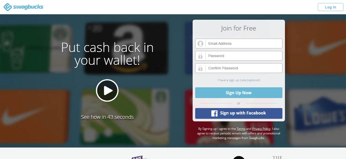 Swagbucks legitimate surveys that pay instantly