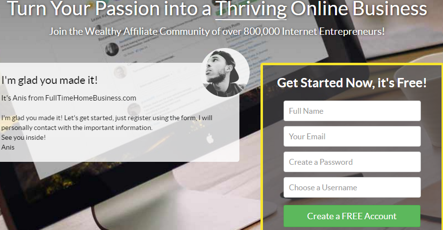 Turn Any Passion into a Thriving Business Im glad you made it Wa