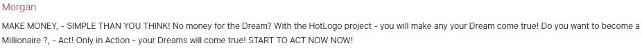Hotlogo fake reviews
