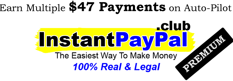Instant Paypal Club sales page