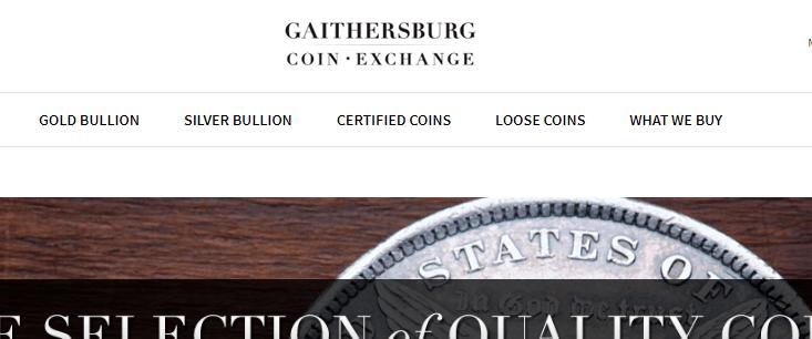 gaithersburg coin exchange gaithersburg md
