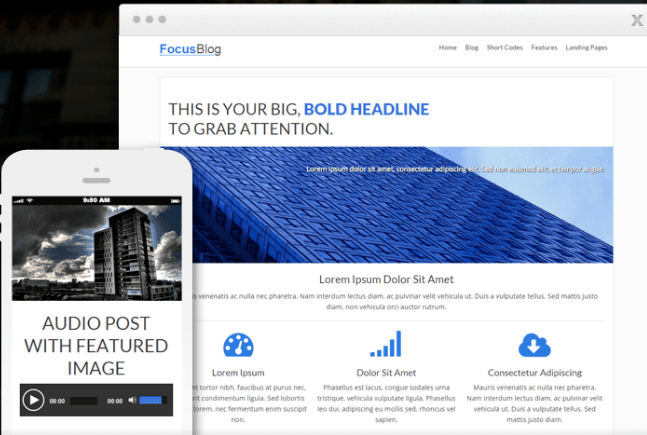 focus blog by thrive themes