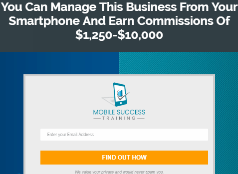 mobile success training scam