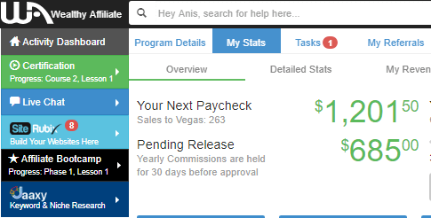 Wealthy affiliate review - your next paycheck