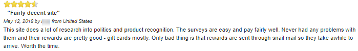 yougov positive reviews online