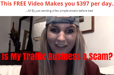 is my traffic business a scam