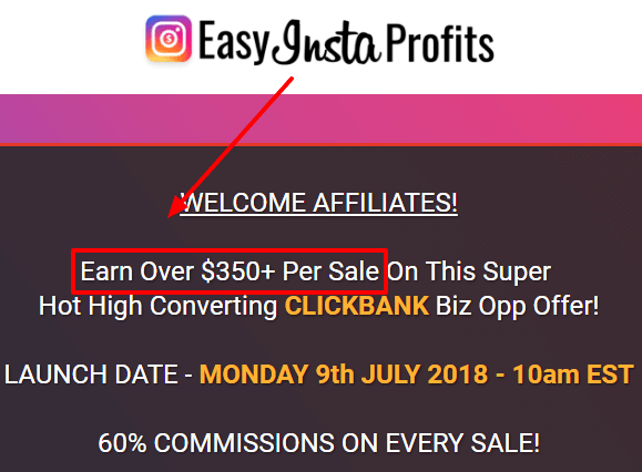easy insta profits affiliate program