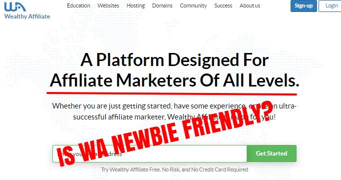is wa newbie friendly?