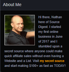 nathan the owner of swift income blueprint 2.0 scam