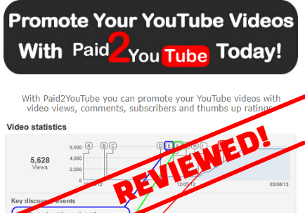 paid2youtube review