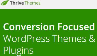 thrive themes Conversion Focused WordPress Themes & Plugins