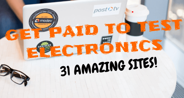 Get paid to test electronics