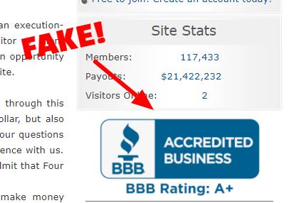 fake bbb rating