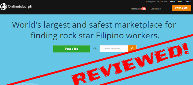 Onlinejobs.ph reviewed