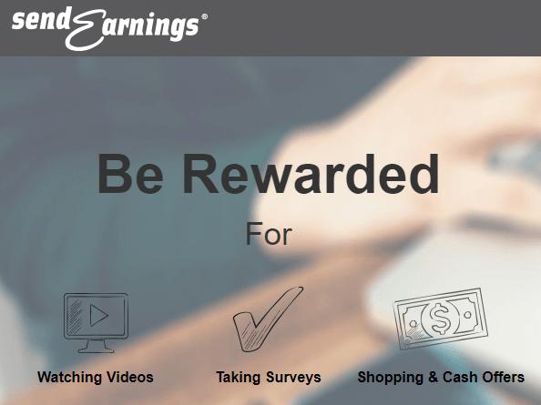 sendearnings website