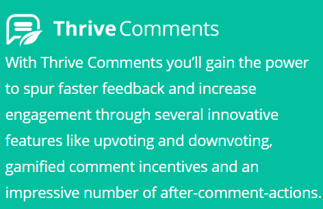 thrive comment
