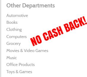 mr rebates no cash back