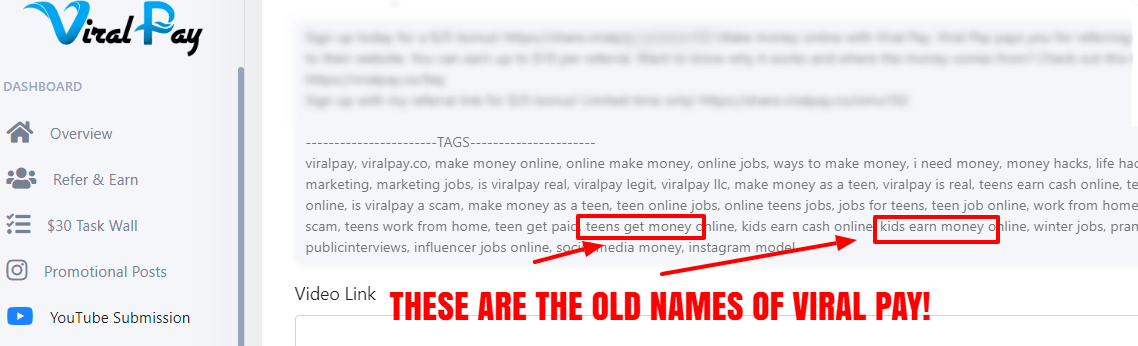 viral pay old names