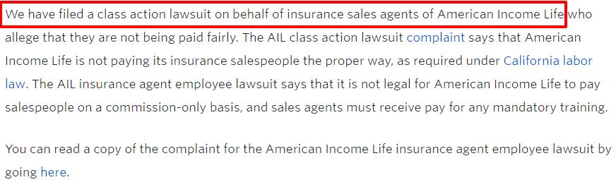 ail lawsuit