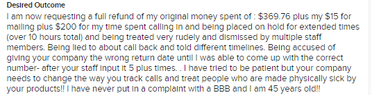 another optavia complaint