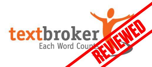 Logo of Textbroker (Reviewed)