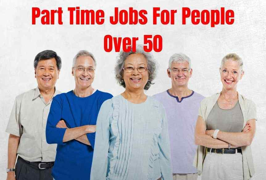 Part Time Jobs For People Over 50