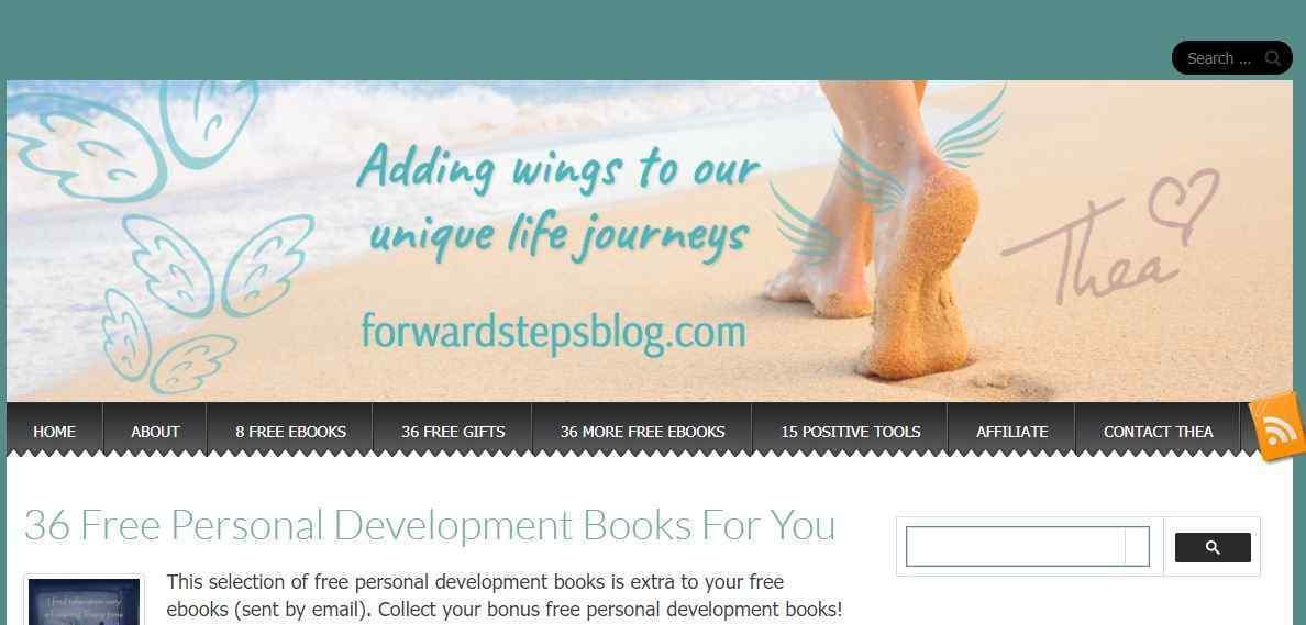 Forward Steps main page