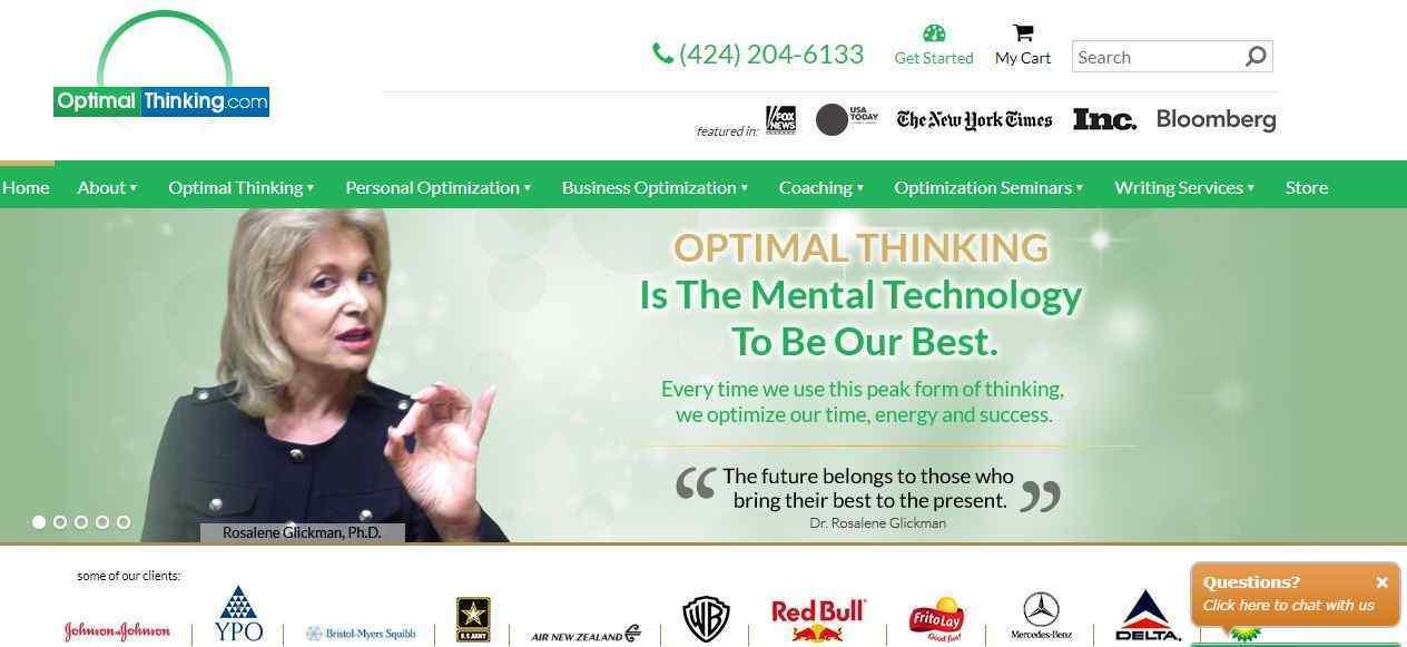 Optimal Thinking main page