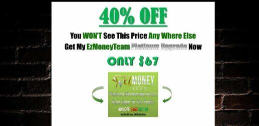 EZ Money Team Upsell 3