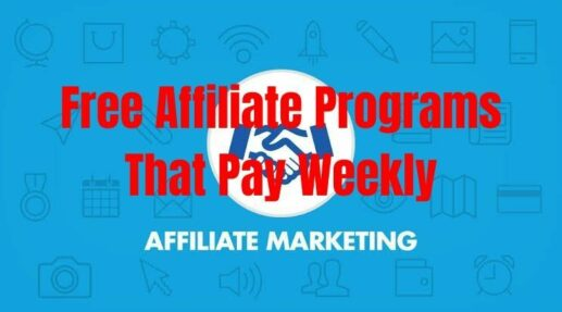 Free Affiliate Programs That Pay Weekly