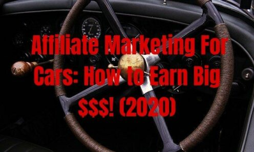 Affiliate Marketing For Cars