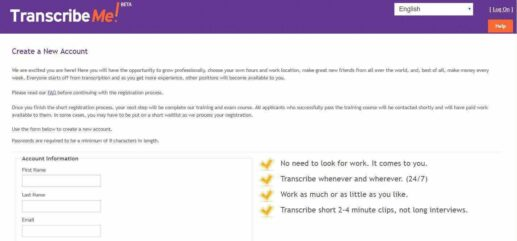 TranscribeMe Review how to join