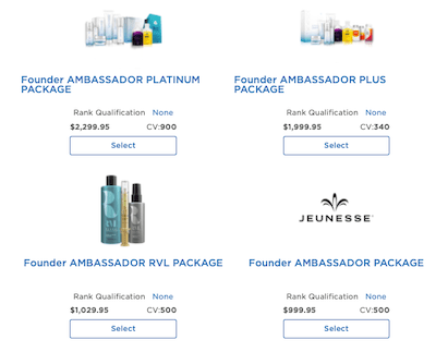 Is Jeunesse A Pyramid Scheme product pack