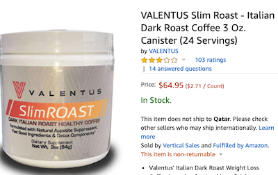 Is Valentus A Pyramid Scheme Coffee Product