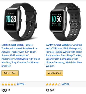 Is Vyvo A Scam Amazon Smart Watch cost